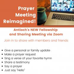 Fellowship Prayer Meeting Relaunch for website